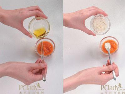 使用方法:将调好的胡萝卜嫩白面膜均匀地敷在洗净的